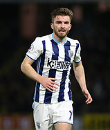 WBA's James Morrison in action during the Premier League match at Vicarage Road Stadium, London. Picture date: April 4th, 2017. Pic credit should read: David Klein/Sportimage