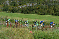 Illustration Peloton, during the Artic Race Norway 2014, Stage 4, Tromsø (Nor)- Tromsø (Nor) (165km)on August 17, 2014. Photo Tim de Waele / DPPI