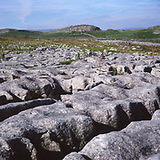 AJEM6B Limestone pavement Yorkshire Dales national park England