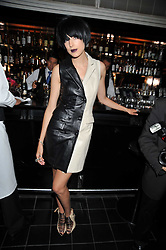 AGYNESS DEYN at a dinner hosted by Alexandra Shulman editor of British Vogue in association with Net-A-Porter.com to celebrate 25 years of London Fashion Week and Nick Knight held at Le Caprice, Arlington Street, London on 21st September 2009.