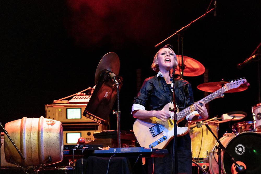 British singer-songwriter Vanessa Anne Redd supporting Phillip Boa & The Voodooclub at Batschkapp club in Frankfurt