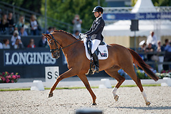 Burgess Briana, AUS, Gerion<br /> Longines FEI/WBFSH World Breeding Dressage Championships for Young Horses - Ermelo 2017<br /> © Hippo Foto - Dirk Caremans<br /> 06/08/2017