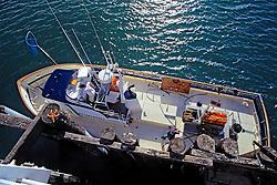Boat At San Simeon Pier