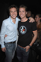 Left to right, DAVE CLARK friend of Princess Beatrice and SAM BRANSON at the grand opening of the Amika nightclub, 65 High Street Kensington, London on 28th February 2007.<br /><br />NON EXCLUSIVE - WORLD RIGHTS