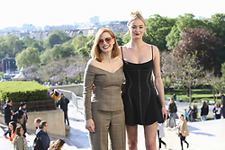 April 26, 2019 - Paris, France - Jessica Chastain - Sophie Turner (Credit Image: © Panoramic via ZUMA Press)