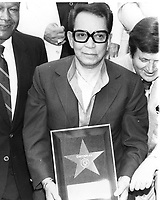 Cantinflas' Walk of Fame ceremony