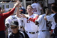 CHICAGO - JULY 04:  Todd Frazier #21 of the Chicago White Sox celebrates with teammates during the game against the New York Yankees on July 4, 2016 at U.S. Cellular Field in Chicago, Illinois.  The White Sox defeated the Yankees 8-2.  (Photo by Ron Vesely) Subject:    Todd Frazier