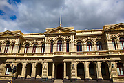 City of Northcote Municipal Offices, Melbourne, Victoria, Australia. Late 19 century building designed by architect George R Johnson, built between 1888 and 1891.