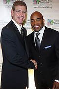 l to r: Les Lieberman and Tiki Barber at Children's Cancer & Blood Foundation Breakthrough Ball held at The Plaza Hotel on October 20, 2009..