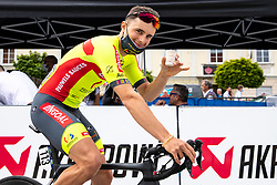 Kenny MOLLY of BINGOAL PAUWELS SAUCES after 2nd Stage of 27th Tour of Slovenia 2021 cycling race between Zalec and Celje (147 km), on June 10, 2021 in Slovenia. Photo by Matic Klansek Velej / Sportida
