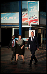 David Cameron with Jessica Lee, Member of Parliament for Erewash during the Conservative Party Conference at ICC, Birmingham, on the second day of the Party Conference, Tuesday October 9, 2012. Birmingham, England. Photo by Andrew Parsons / i-Images..