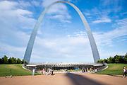 Image of the Gateway Arch, Gateway Arch National Park, St. Louis, Missouri, USA.