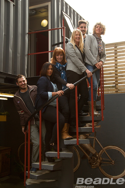 Catalyst Communications team members. Image by Greg Beadle