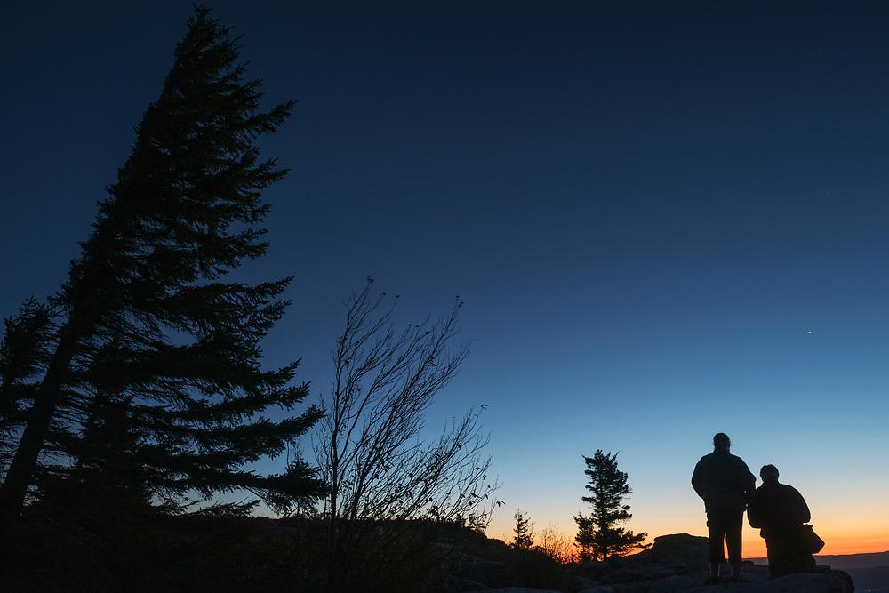 Sunrise. Dolly Sods Wilderness. Tucker County, West Virginia.