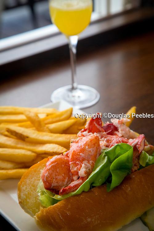Lobster Roll, Newport, Rhode Island, USA