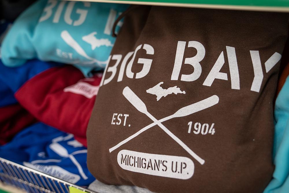 Scenes from Crams General Store in Big Bay, Michigan.