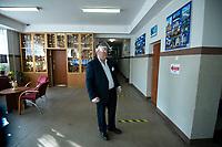 Bialystok, 28.06.2020. Wybory prezydenckie 2020. N/z glosowanie w OKW nr 82 fot Michal Kosc / AGENCJA WSCHOD