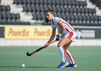 AMSTELVEEN -  Marlena Rybacha (Oranje Rood)  tijdens de hockey hoofdklasse competitiewedstrijd  dames, Amsterdam-Oranje Rood (2-1).  COPYRIGHT KOEN SUYK