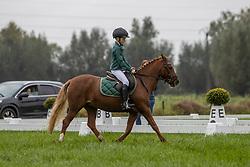 De Vos Tuur, BEL, Charmeur<br /> Nationaal Kampioenschap LRV <br /> Ponies Dressuur - Oudenaarde 2020<br /> © Hippo Foto - Dirk Caremans<br /> 03/10/2020