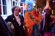 PHILIP SALLON, Premiere of 'The British Guide to Showing Off' Jes Benstock's documantary on Andrew Logan's life and 12 Alternative Miss World's. Prince Charles cinema, Leicester Place. London and afterward's at Moonlighting, Greek St. London. 6 November 2011. <br /> <br />  , -DO NOT ARCHIVE-© Copyright Photograph by Dafydd Jones. 248 Clapham Rd. London SW9 0PZ. Tel 0207 820 0771. www.dafjones.com.