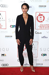 Madeleine Mantock arriving at the London Film Critics Circle Awards 2017, the May Fair Hotel, London.