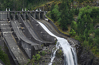 Diablo Dam spillway, Ross Lake National Recreation Area, North Cascades Washington
