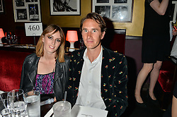 OTIS FERRY and LADY ALICE MANNERS at Hoping's Greatest Hits - the 10th Anniversary of The Hoping Foundation's charity benefit held at Ronnie Scott's, 47 Frith Street, Soho, London on 16th June 2016.