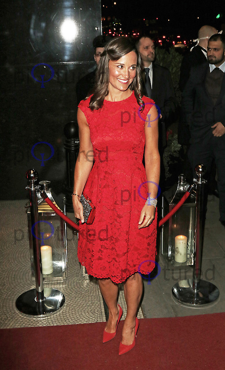 Pippa Middleton, British Heart Foundation Roll Out The Red Ball, Park Lane Hotel, London UK, 10 February 2015, Photo by Richard Goldschmidt