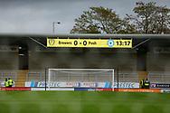 *** during the EFL Sky Bet League 1 match between Burton Albion and Peterborough United at the Pirelli Stadium, Burton upon Trent, England on 27 October 2018.