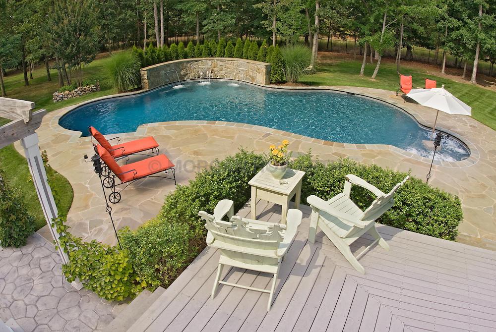 Deck patio Verandah Porch Pool pool house