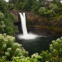 Rainbow Falls in Hilo, Hawaii.