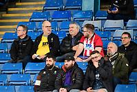 Lincoln City fans enjoy the pre-match atmosphere<br /> <br /> Photographer Andrew Vaughan/CameraSport<br /> <br /> The EFL Sky Bet League One - Sheffield Wednesday v Lincoln City - Saturday 23rd October 2021 - Hillsborough Stadium - Sheffield<br /> <br /> World Copyright © 2021 CameraSport. All rights reserved. 43 Linden Ave. Countesthorpe. Leicester. England. LE8 5PG - Tel: +44 (0) 116 277 4147 - admin@camerasport.com - www.camerasport.com