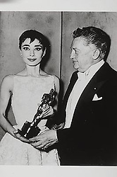 ; Film History: Oscars. Original Film Title: Film History: Oscars, PICTURED: AUDREY HEPBURN, JEAN HERSHOLT, IN CAST: (Credit Image: © ZUMA Movie Library/ZUMAPRESS.com)
