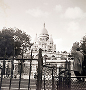 at the Sacre Couer in Paris ca 1960s