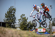 #1 (VAN GENDT Twan) NED  at Round 9 of the 2019 UCI BMX Supercross World Cup in Santiago del Estero, Argentina