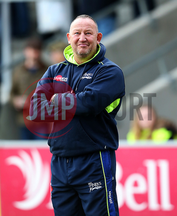 Sale Sharks' director of rugby Steve Diamond - Mandatory by-line: Matt McNulty/JMP - 20/11/2016 - RUGBY - AJ Bell Stadium - Sale, England - Sale Sharks v Saracens - Aviva Premiership