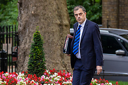 © Licensed to London News Pictures. 10/07/2018. London, UK. Conservative Chief Whip Julian Smith arrives on Downing Street for the Cabinet meeting. Photo credit: Rob Pinney/LNP