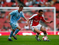 Francis Coquelin of Arsenal  FA Cup Youth Semi-Final 2nd Leg <br /> Arsenal Youth v Manchester City Youth at  Emirates Stadium London<br /> 22/04/2009. Credit Colorsport /  Kieran Galvin