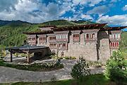 Bhutan, Paro, Zhiwa Ling Hotel, Exterior