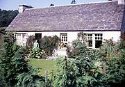 Holiday cottage, Comrie, Highlands, Scotland 1968