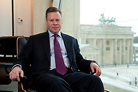 21 JAN 2010, BERLIN/GERMANY:<br /> Iaian Conn, Chief executive Refining and Marketing, Executive member of the BP board of directors, BP Buero Berlin<br /> IMAGE: 20100121-01-005