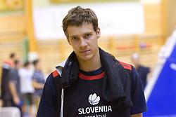 Goran Dragic - Gogi during practice session of Slovenian National Basketball team during training camp for Eurobasket Lithuania 2011, on July 12, 2011, in Arena Vitranc, Kranjska Gora, Slovenia. (Photo by Vid Ponikvar / Sportida)