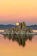 Rising November Full Moonover Mono Lake, Mono Basin National Forest Scenic Area, California