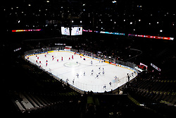 Arena prior to the 2017 IIHF Men's World Championship group B Ice hockey match between National Teams of Norway and France, on May 6, 2017 in Accorhotels Arena in Paris, France. Photo by Vid Ponikvar / Sportida