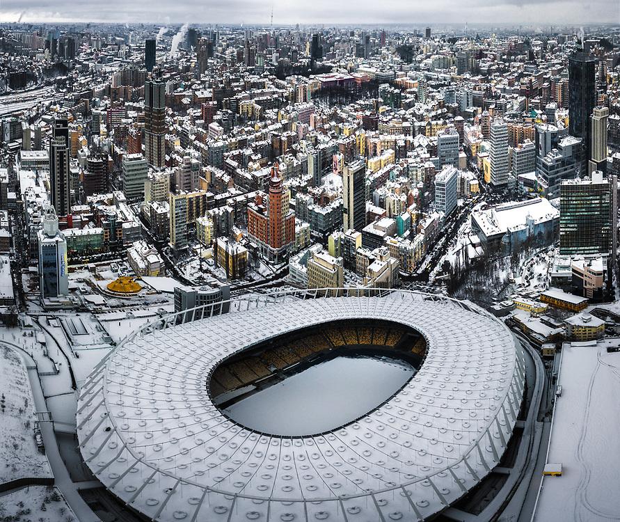 Olimpiyskiy Stadium in Kiev