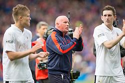 Falkirk's manager Peter Houston at the end. Falkirk 1 v 2 Inverness CT, Scottish Cup final at Hampden.