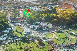 Imagem área da 38ª Expointer, que ocorrerá entre 29 de agosto e 06 de setembro de 2015 no Parque de Exposições Assis Brasil, em Esteio. FOTO: Jefferson Bernardes/ Agência Preview