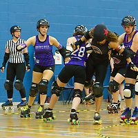 Rainy City Tender Hooligans take on Swansea Slayers in the British Champs 2017 Playoffs, Fenton Manor, Stoke-on-Trent, 2017-09-16