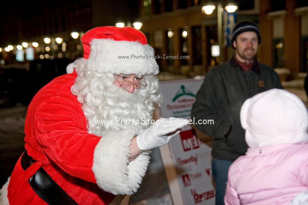 "Wisconsin USA, ""Celebration of lights"" Christmas celebration in Milwaukee, WI. December 2006"