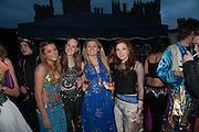 ANNA WILLIAM; LADY BELLA INNES-KER; GRACE HAMMOND; ELISE SAUNDERS-WATSON, Alice Manners 18th   birthday. Belvoir Castle, Grantham. 12 April 2013.